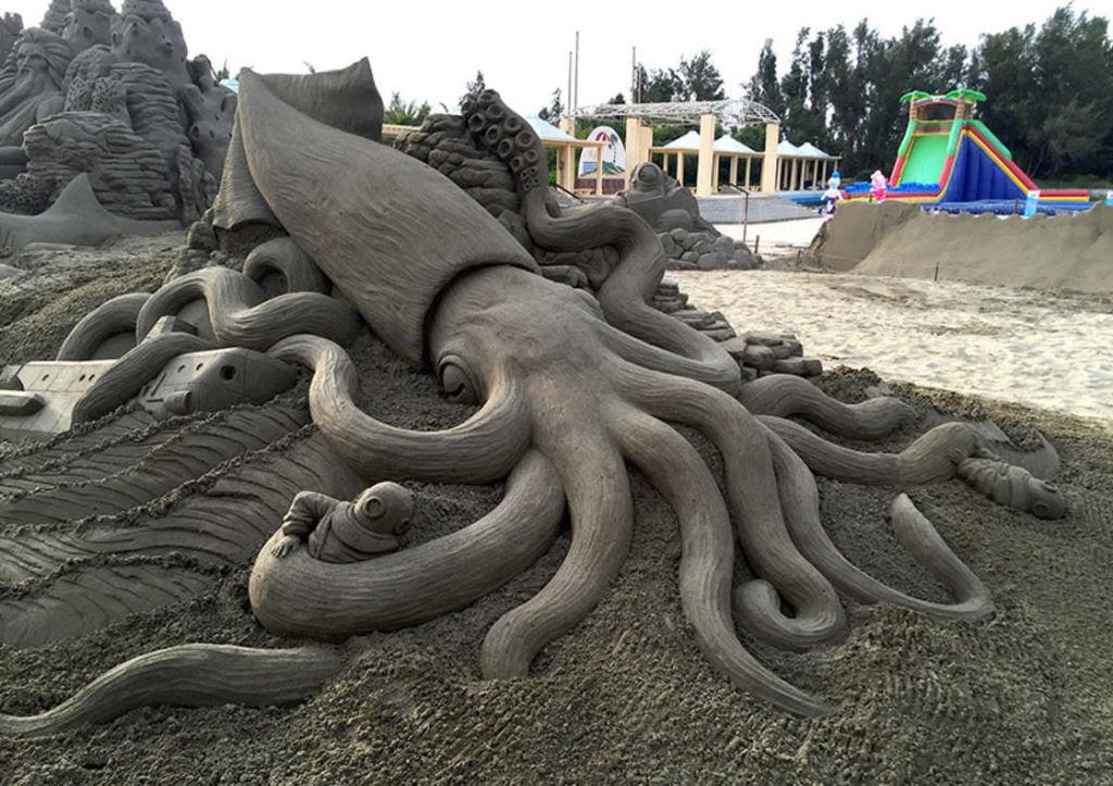 As extraordinárias esculturas de areia de Toshihiko Hosaka 13