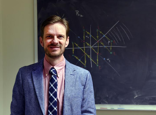 A&M professor leads computing project: Alongside colleagues from other schools, mathematician Eric Rowell will help develop quantum computer