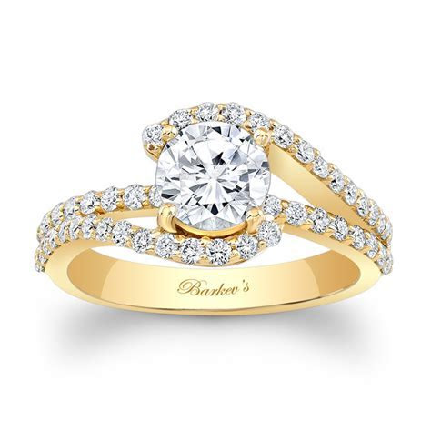Barkev's Yellow Gold Engagement Ring 7848LY   Barkev's