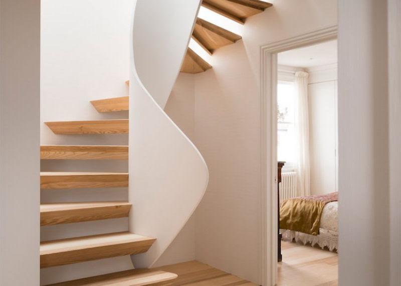 Escadas incrivelmente projetadas que estão um degrau acima das demais 18