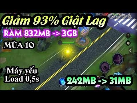 Fix Lag Liên Quân Mobile mùa 10 - Giảm 80% đò họa game và tối ưu cực tốt cho máy yếu