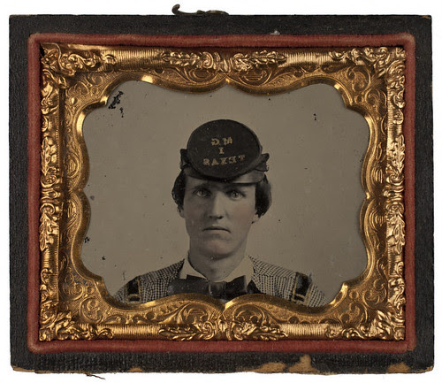 [First Lieutenant Eli N. Baxter, Confederate States Army] by SMU Central University Libraries