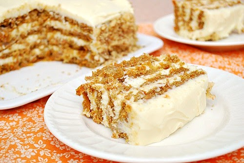 Easy Layered Carrot Cake What S Cookin Chicago