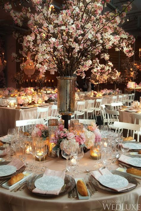 17 Best ideas about Cherry Blossom Centerpiece on