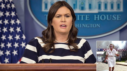 Sarah Huckabee Sanders Denies Doctoring Footage Showing Jim Acosta In Clown Makeup Blowing Up Gotham Hospital