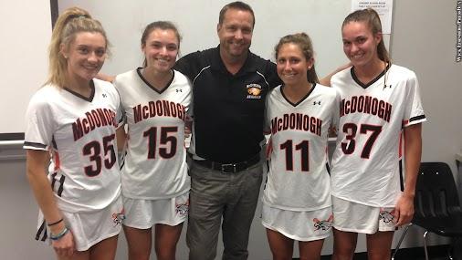 Winning McDonogh Girls' Lacrosse Coach Chris Robinson Leaves Program
