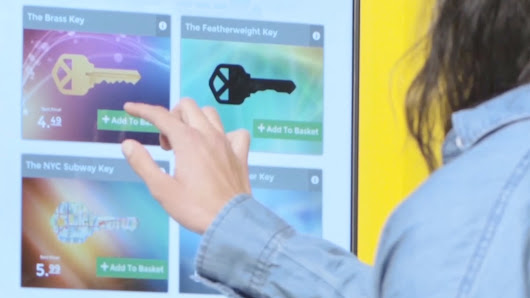 Locked out? Get your key out of the cloud at new kiosk