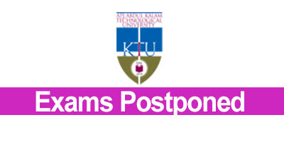 Alert KTU Postponed Btech Exams • Edu Kerala