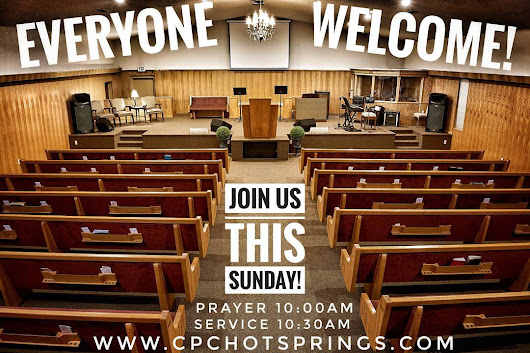 Join us this Sunday with the ministry of guest speaker Rev. Keith Green! #revivalinhotsprings
