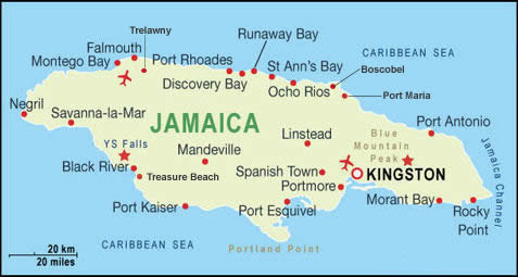 Mandeville is the capital of Jamaica's Manchester parish.