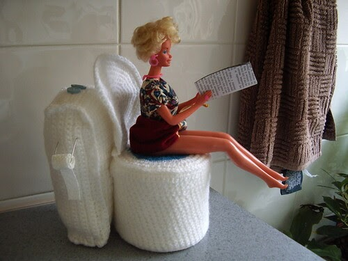 auntieelle u0026 39 s blog  barbie u0026 39 s toilet