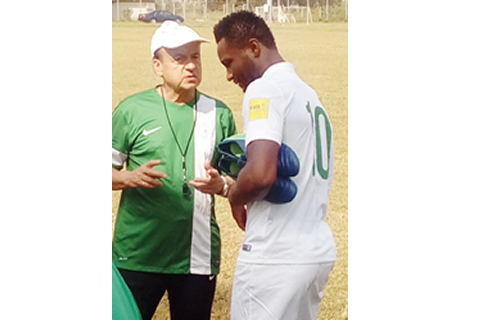 Afcon 2019: Rohr drops China Eagles from Bafana Bafana showdown - New Telegraph Online