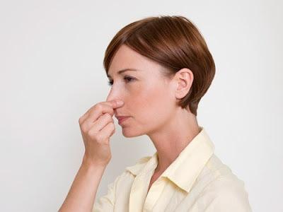 Sangramento no nariz