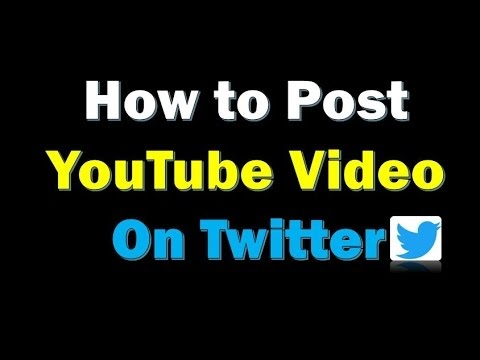 How To Post A Youtube Video On Twitter