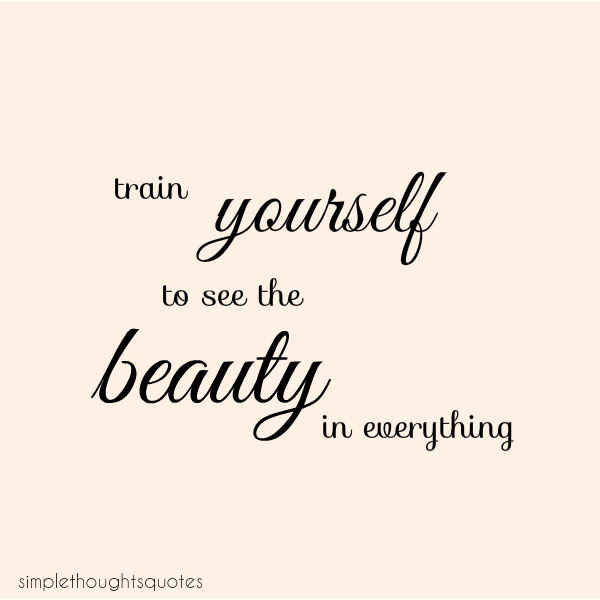 Quotes About Simple Beauty. QuotesGram