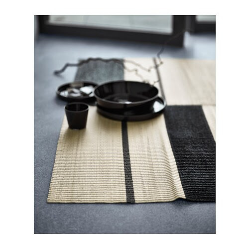 VIKTIGT Rug, flatwoven IKEA Handwoven by skilled craftspeople, and therefore unique.