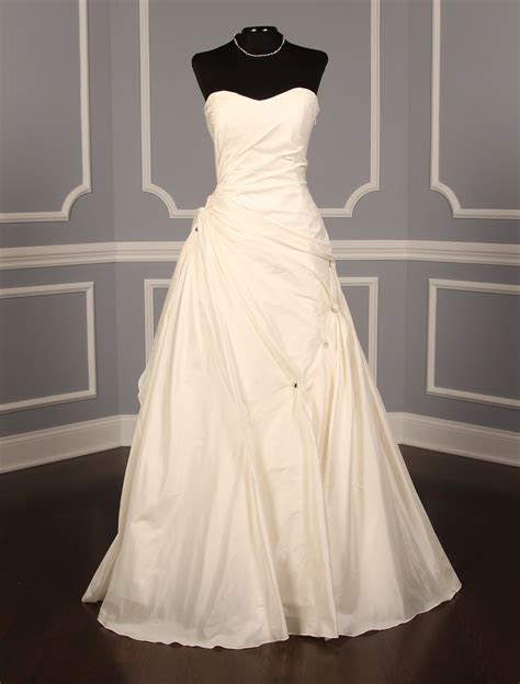 Justina Atelier Suzanne Wedding Dress Discounted on Sale