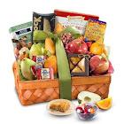 Kosher Fruit & Sweets Deluxe Gift Basket by 1-800-Baskets - Gift Basket Delivery