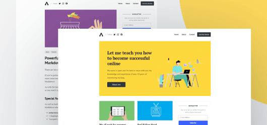 Affiliates - Free Bootstrap Template