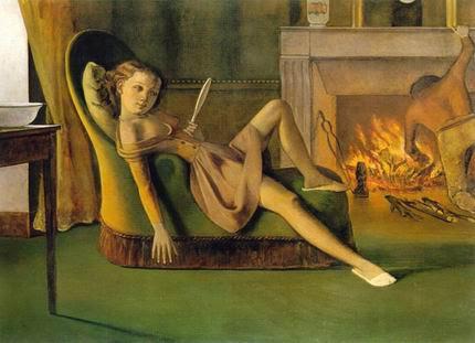 """""""I giorni belli"""", opera di Balthus."""
