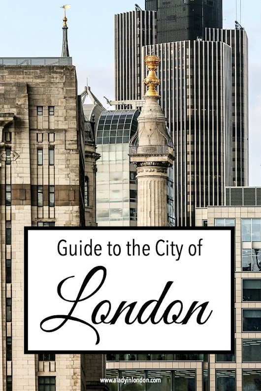 City of London Guide - A Self-Guided Tour of the City