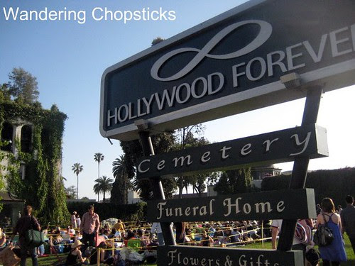 Cinespia Cemetery Screenings (Casablanca) - Hollywood Forever Cemetery - Los Angeles 1