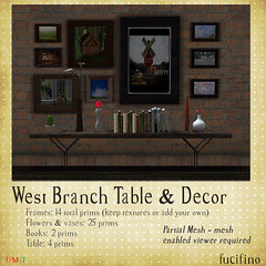 fucifino.west branch table and decor