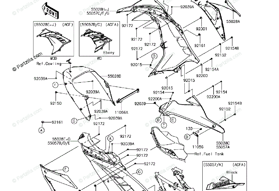30 Kawasaki Ninja 300 Parts Diagram