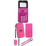 Texas 84PLCE/TBL/1L1/P Ti84 Plus Ce Positively Pink Ti84 Plus Ce Positively Pink 225227 Sensormatic Graphing Calculator