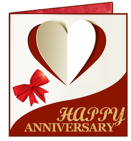 Anniversary Greeting Cards Designer For Free By Drpu Software