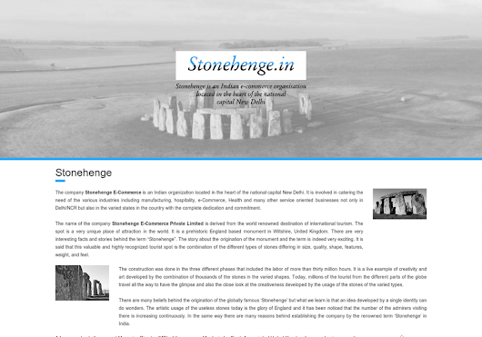 Stonehenge E-Commerce Private Limited Launched Online Bus Ticket Booking Website | Visual.ly
