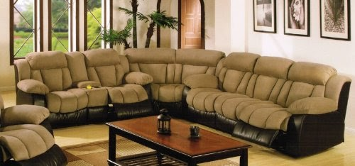 Sectional With Cup Holders Home Decoration Club