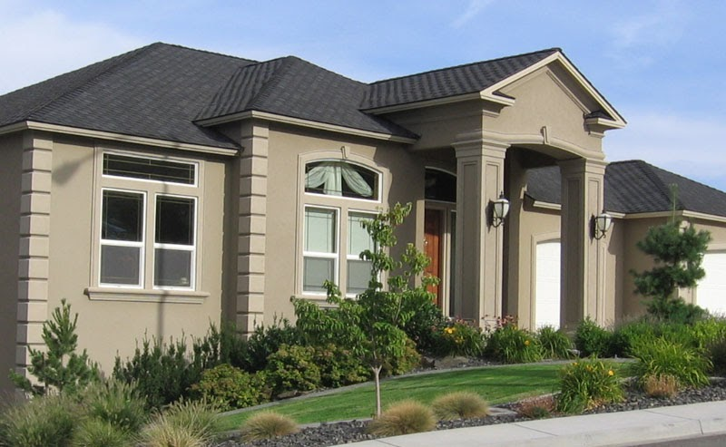 Living stingy dry vit synthetic stucco selling the sizzle for Exterior stucco design decorating ideas