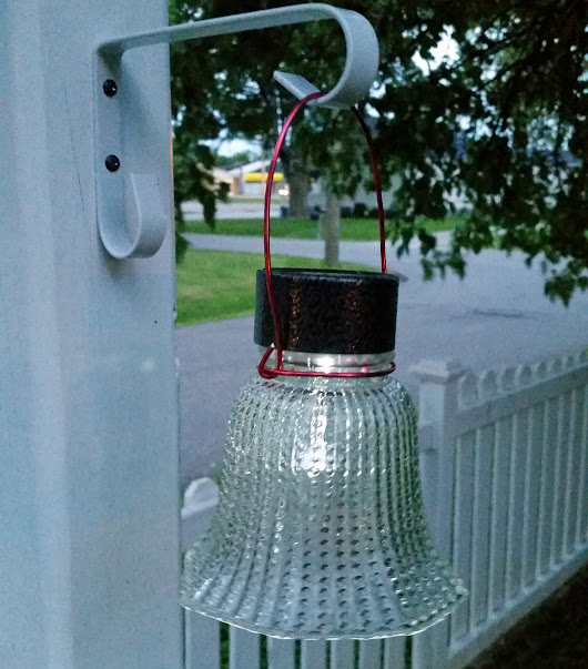 Glass Globe Solar Lights - My Repurposed Life™