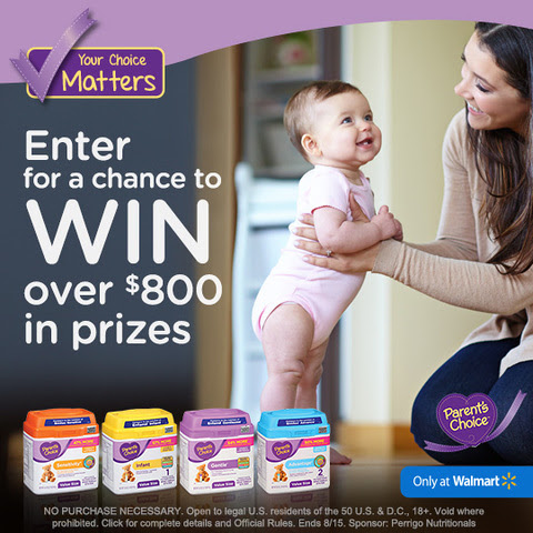 The Parent's Choice Formula Feeding Time Summer Sweepstakes