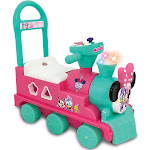 Disney Minnie Mouse Play N' Sort Activity Train Ride-On