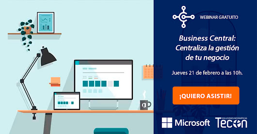 Webinar ERP Microsoft Dynamics 365 Business Central - Tecon