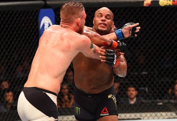 Daniel Cormier x Alexander Gustafsson UFC 192 MMA (Foto: Getty Images)