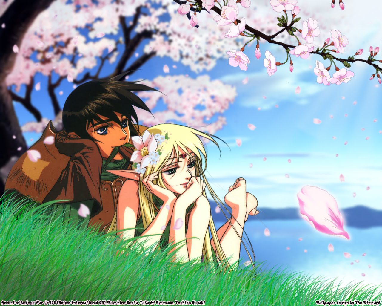 Record Of Lodoss War Wallpaper And Scan Gallery Minitokyo