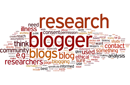Usage guidelines for researchers who use blogs