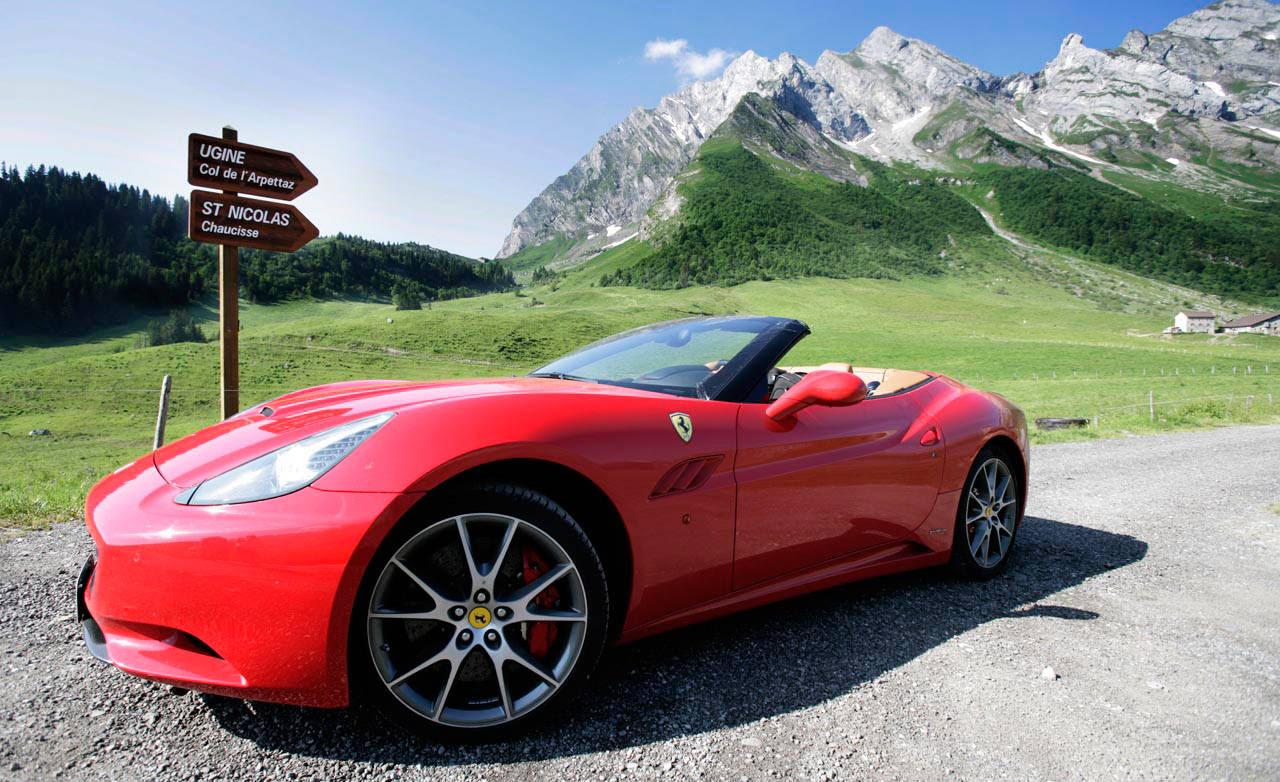 Prancing Horse Comparison: 2010 Ferrari 458 Italia versus ...