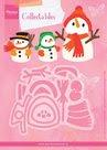COL1413 Collectables snijmallen sneeuwpoppen