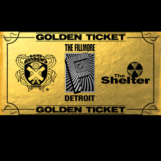 Gold Ticket Giveaway in Detroit