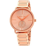 Michael Kors Portia Rose Gold-tone Ladies Watch MK3640
