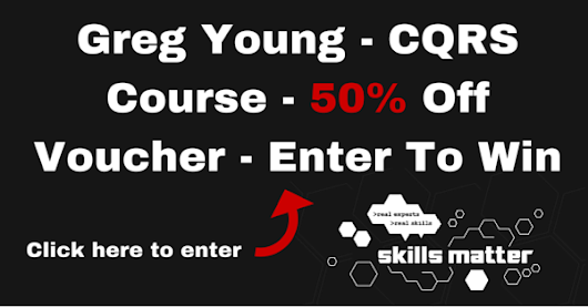 Win 50% off a Greg Young CQRS Course