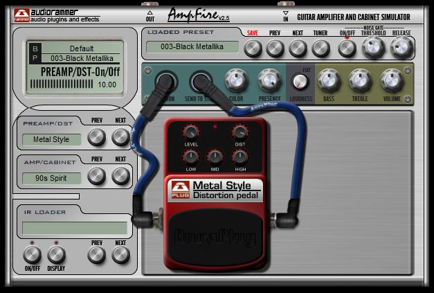 Music Instrument Acoustic Guitar Amp Plugin