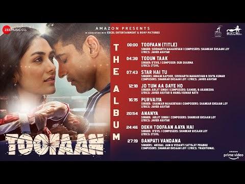 Toofaan-The Album(Ananya)   Farhan Akhtar   Mrunal Thakur