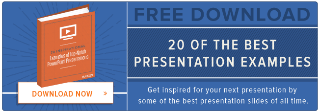 download 20 examples of top-notch presentations