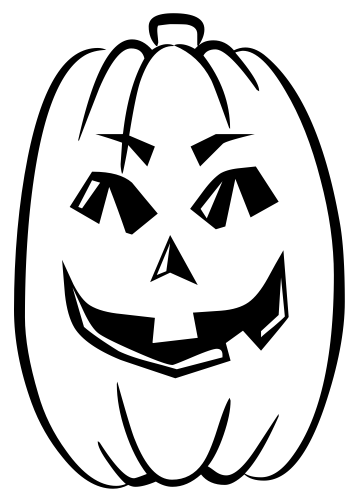 Pumpkin Black And White Pumpkin Clipart Black And White Silhouette