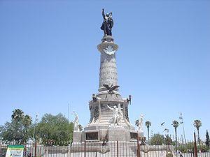 Monumento a Benito Juárez en Ciudad Juárez Chi...